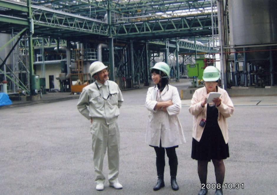 2008年10月 サングレイン蒸留所へ