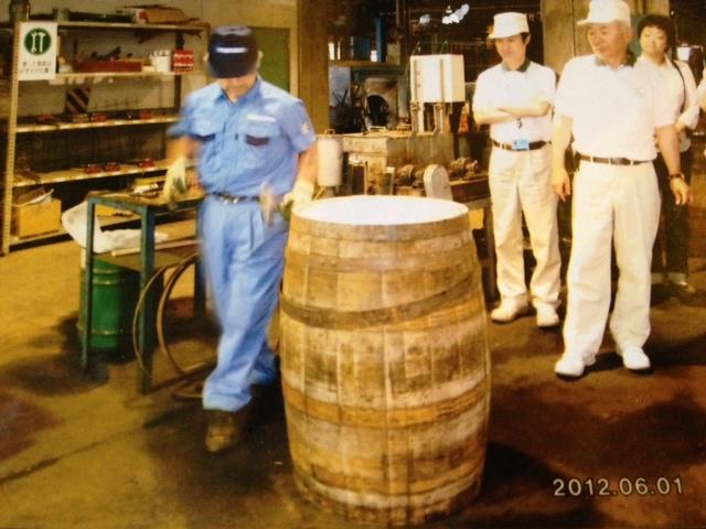 「6月には白州の樽工場へ」 素晴らしかった。 前村工場長をお招きしてセミナーを開く。