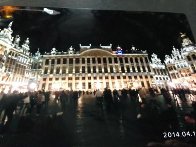 ベルギーの夜
